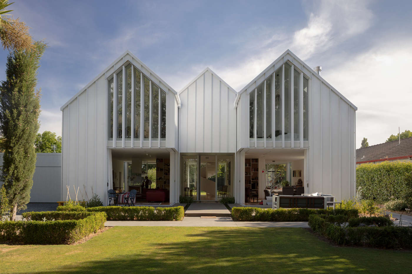 Fendalton house residential architecture by patterson for Architects christchurch